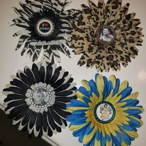 Accessories - Pinup hair flower clips